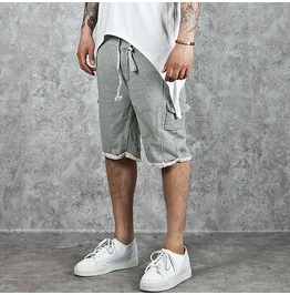 Vintage Mini Cargo Pocket Accent Sweat Shorts 57