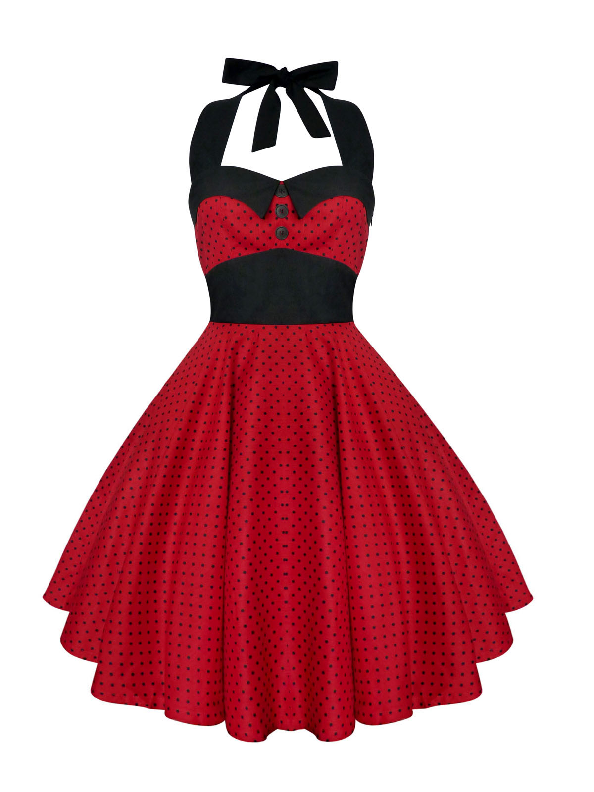 50s Style Christmas Dress