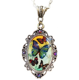 Butterfly Sparkles Cameo