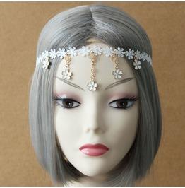 Handmade White Lace Sweet Lolita Gothic Hair Dress Fd 60