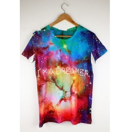 Arrival Candy Color Magic Galaxy T Shirt Galaxy Tee