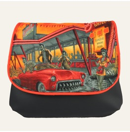 Zombie Drive In Kelsi Ii Cross Body Purse Mini Messenger