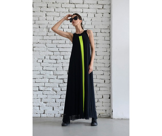 rebelsmarket_long_black_mesh_dress_maxi_dress_loose_woman_dress_neon_line_dress_dresses_6.jpg