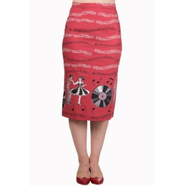 Banned Apparel Empower Pencil Skirt