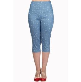 Banned Apparel Sweet Talker Capri Trousers