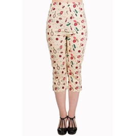 Banned Apparel New Romantics Capri Trousers