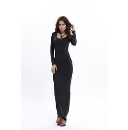 Casual Long Sleeves Maxi Dress