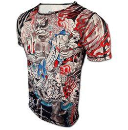 Designer t shirt dragon master chaquetero top japanese tattoo fashion new t shirts
