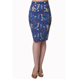 Banned Apparel Made Of Wonder Pencil Skirt