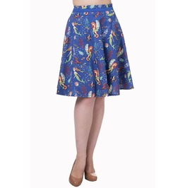 Banned Apparel Made Of Wonder Midi Skirt