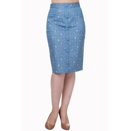 Banned Apparel Sweet Talker Pencil Skirt