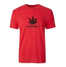 "Men's Vintage Tri Blend ""Cannabis"" Tee"