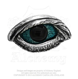 The Vulture's Eye Edgar Alan Poe Belt Buckle By Alchemy Gothic