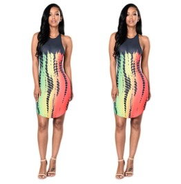 Bandage Bodycon Sleeveless Evening Sexy Party Cocktail Short Mini Dress