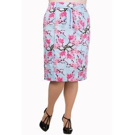 Banned Apparel Last Dance Pencil Skirt Plus