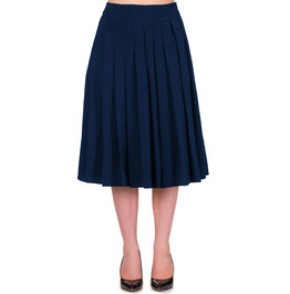 Banned Apparel Take A Hike Skirt Navy, Black, And Red