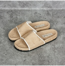 Straw Like Suburban Comport Slides, Shoes 282
