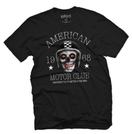 American Motor Club Mens T Shirt
