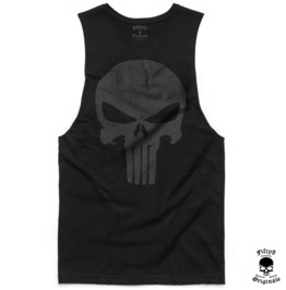 Punisher Skull Mens Muscle Tee