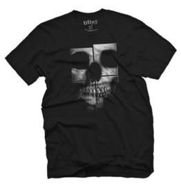 Skull Puzzle Mens T Shirt