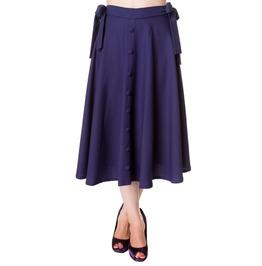 Banned Apparel Buttons Long Skirt