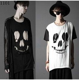 Summer Men Punk Rock Style T Shirts