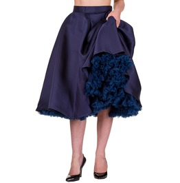 Banned Apparel Miracles Skirt Navy And Black