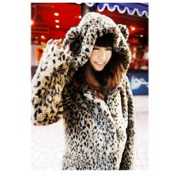 Leopard Coat / Abrigo Leopardo Wh142