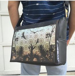 Freshmen, Desert Print, Benga Rabbit Messenger Bag