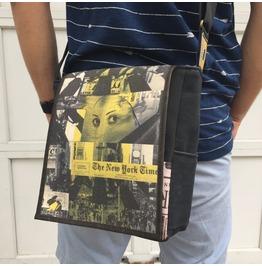 Eskimo, Nyt Print, Benga Rabbit Messenger Bag