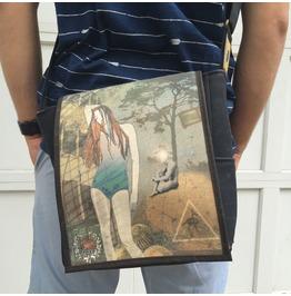 Eskimo, Think Print, Benga Rabbit Messenger Bag