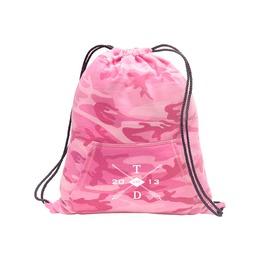"""Tdx Logo"" Hoodie Cinch Pack Pink Camo"