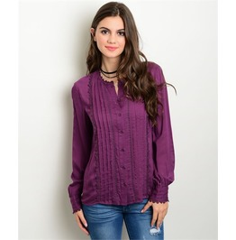 Purple Victorian Blouse