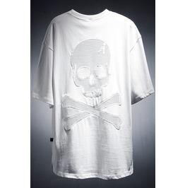 Mens Skull Mesh Tshirts