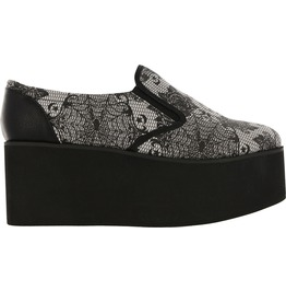 Iron Fist Shoes Midnight Widow Slip On Creeper
