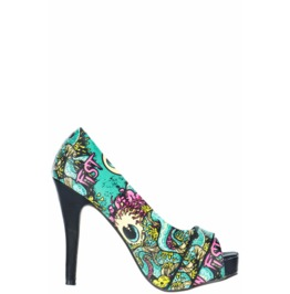 Iron Fist Shoes Oh No! Peep Toe Platform