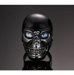 Steampunk Skeleton Head Ring