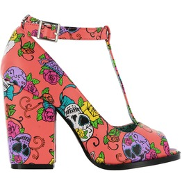 Iron Fist Shoes Sweet Tooth Peeptoe Heel