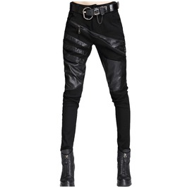 Women's Punk Pant With Straps