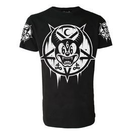 Mickey 666 T Shirt Occult Satanic Goth Biker
