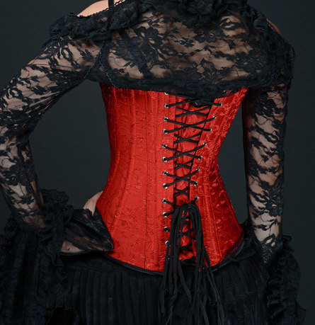 rebelsmarket_steel_boned_red_brocade_clasp_gothic_overbust_corset_9_to_ship_anywhere_bustiers_and_corsets_3.jpg