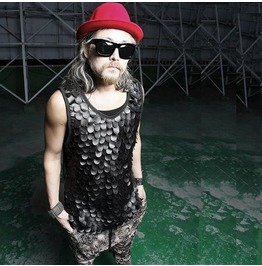 2016 Summer Fish Scale Cool Pu Leather Tank Tops Tee