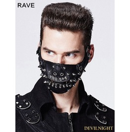 Black Rivet Mask