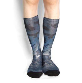 Crow Long Socks