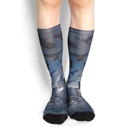 Crow Long Socks