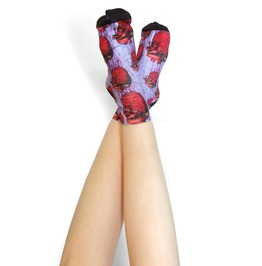 Anatomical Heart Ankle Socks.