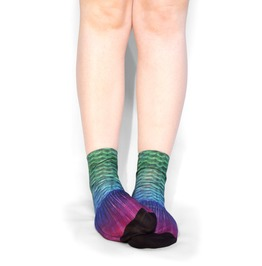 Mermaid Tail Ankle Socks