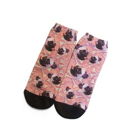 Pugs And Crossbones Ankle Socks