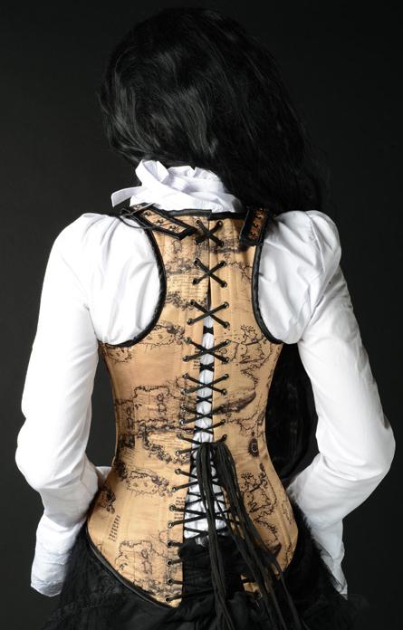 rebelsmarket_steel_boned_steampunk_traveler_map_print_shoulder_corset_lace_up_back_bustiers_and_corsets_2.jpg
