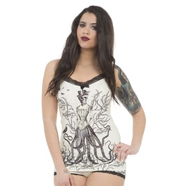 Jawbreaker Clothing White The Sea Witch Cami